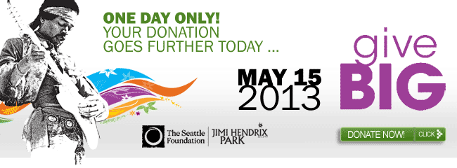Jimi Hendrix Park Foundation - GiveBIG Today!