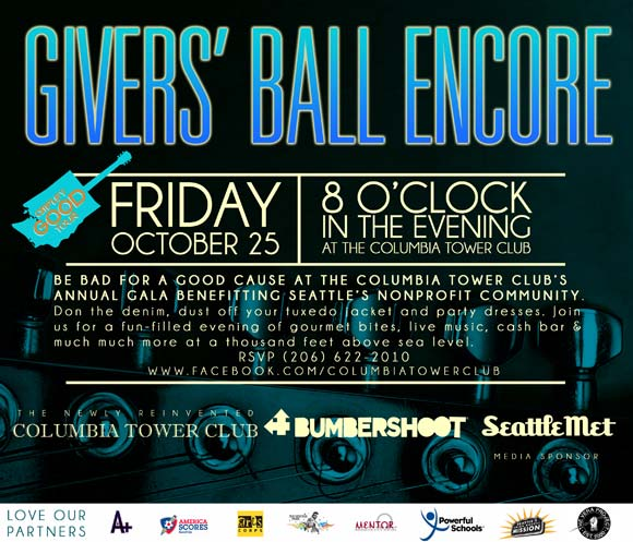 Givers' Ball Encore - Support Jimi Hendrix Park